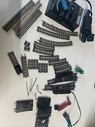 Used Atlas Lot Of N Scale Train Track Switches Curve And Strait Transformer