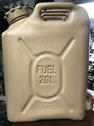 New Tan Scepter 20 Liter Military Fuel Container