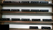 Bowser 17- Dands 70 Ton 14 Panel Hopper Cars Display Only From A Collection Ho