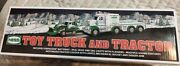 2013 Hess Gas Toy Truck And Tractor Brand New In The Box