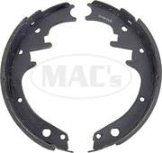 1966-1973 Mustang Relined Rear Brake Shoes 10 X 2 44-39563-1