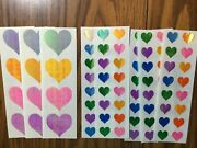 8 Very Rare Mrs Grossmanandrsquos Opal Pattern Heart And Opal Hearts Multi Small Sticker