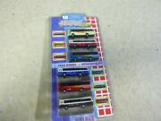 3 N Scale Vehicles/ Buses Lot Of 6 New In Pkg