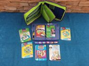 Leap Frog Leap Pad Interactive Learning System And Cartridge And Books