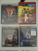 Resident Evil 6 5 Gold Edition 2 And Operation Raccoon City Ps3 Horror Games Lot