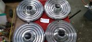 1969 Pontiac Pmd Hubcaps Wheelcover Cover 15 Cap Vintage 5019 Oem