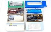 4 Vintage Ho Train Car Kits Bowser, Branch Lines, Walthers, And Front Range