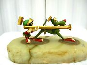 Vtg Ron Lee Marvin The Martianandk-9 With Bazooka Figurine/paperweight Le 302/1200