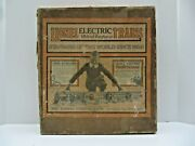 Lionel Prewar Outfit 93 Set Box Only- From 1926 - Solid With Older Repairs