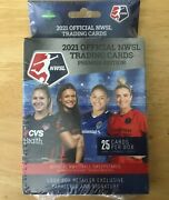 2021 Official Nwsl Premier Edition Soccer Trading Cards Hanger Box Sealed 🔥🔥
