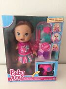 Baby Alive Hasbro Play N Style Christina Doll Brunette Hair With Accessories New