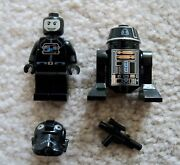 Lego Star Wars - Rare - R5-j2 Droid And Tie Fighter Pilot - From 9492
