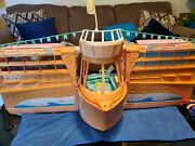 Barbie Cruise Ship With Some Accessories