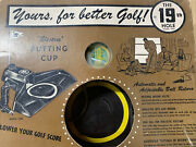 Vintage 19th Hole Brand Eagle Electric Putting Cup Model 1902 Auto Ball Return