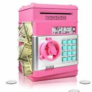Surejoy Piggy Bank For Boys Girls Large Electronic Real Money Coin Bank With ...