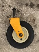 Cub Cadet Caster Yoke Assembly And Wheel Yellow Rzt 50 A
