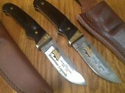 Two Schrade+ Ph1 Usa Knives American Legends Teddy Roosevelt