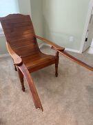 Plantation Chairs , Set Of Two, Antique And Original, Planters Chair