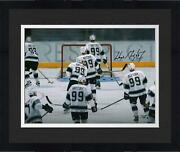 Frmd Wayne Gretzky Los Angeles Kings Signed 16 X 20 Respect Photo - Le 199