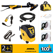 Mirka Leros-s Wall And Ceiling Sander 1230 M Afc Dust Extractor Or 225mm Abranet