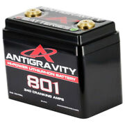 Antigravity Batteries Ag801 8 Cell Lithium Ion Small Case Motorcycle Battery 8c