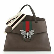 Totem Top Handle Bag Leather Large