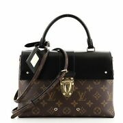 Louis Vuitton One Handle Flap Bag Monogram Canvas And Leather Mm