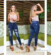 Jeans Colombianos Sc8277 Authentic Colombian Push Up Jeans, Jean Levanta Cola