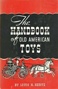 Antique Collectible Toys Games Books - History Development / Scarce Book