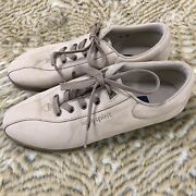 Easy Spirit Anti Gravity Womens Tan Suede Leather Lace Up Comfort Shoes Size 10