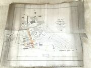 1824 Antique Map Of Little Woodhouse Leeds Denison Hall Hanover Square Rare