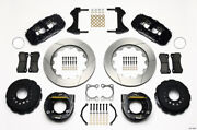Wilwood Aero4 Rear P-brake Kit 14.00in Big For Ford Old Style 2.36in Offset - Wi