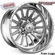 American Force Ck17 Battery Concave Polished 24x14 Wheel 6 Lug One Wheel