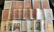 Delineator Magazine - Lot Of 90 1881-1907 - Victorian Fashion/butterick/sewing
