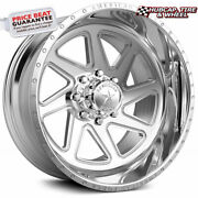 American Force Canyon Ck12 Concave Polished 26x16 Truck Wheel 8 Lug One Wheel