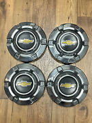 Vintage 1969-1976 C10 Chevy Truck Dog Dish Hubcaps 10.5