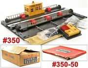 Lionel Pw 350 Engine Transfer Table And 350-50 Extension W/box /2/ 1957-60 Xlt