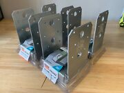 4 Pack Simpson Strong Tie Abu44z 4x4 Standoff Post Base Z-max Finish