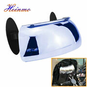 180-degree Motorcycle Blind Spot Wide Angle Lens Safety Large Rearview Mirrors