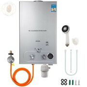 18l Propane Gas Instant Hot Water Heater Shower Kit Tankless Natural Gas Boiler