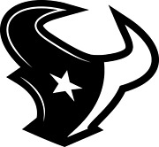 Houston Texans Vinyl Decals-bogo-colors Incl. Chrome And Frosted Glass