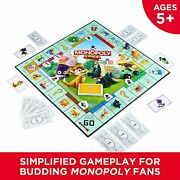 Hasbro Monopoly Junior Board Game Edition Kids Age 5 And Up Brand New Sealed