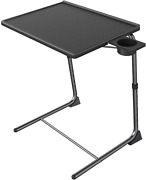 Adjustable Tv Tray Table - Tv Dinner Tray On Bed Sofa, Comfortable Folding Tab