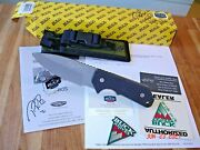 Paul Bos Collection Buck 888 Knife Strider Solution Ats-34 Blade G10 Handle Usa