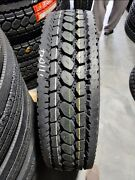 8 New 295/75r22.5 Drive Tl Tires Free Shipping