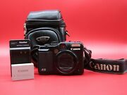 Canon G10 Digital 14.7 Mega Pixel Camera With Battery, Charger And Case Works
