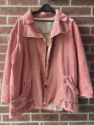 Nwt Magnolia Pearl Cotton Velvet Rosalle Jacket Embroidery In Solrose Reversible