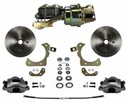 Leed Brakes Fc1010-k1a1 Front Disc Brake Kit W/ Factory Spindles Chevy Tri-five