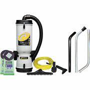 Proteamand174 10 Qt. Linevacer Hepa Backpack Vacuum W/high Filtration Tool Kit