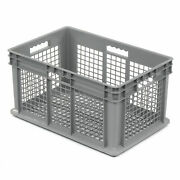 Akro-mils 37612 Straight Wall Container Mesh Sides And Base 23-3/4l X 15-3/4w X